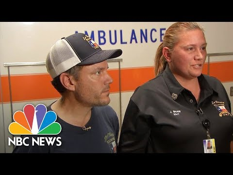 First Responders Share Their Stories After the Texas Church Shooting | NBC News