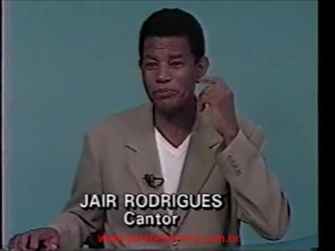 Jair Rodrigues no Jornal do MeioDia