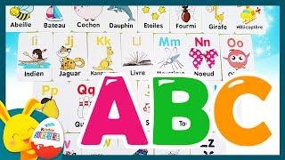 L'ALPHABET - Apprend l'alphabet français. Vidéo éducative - ABC -Touni Toys Titounis