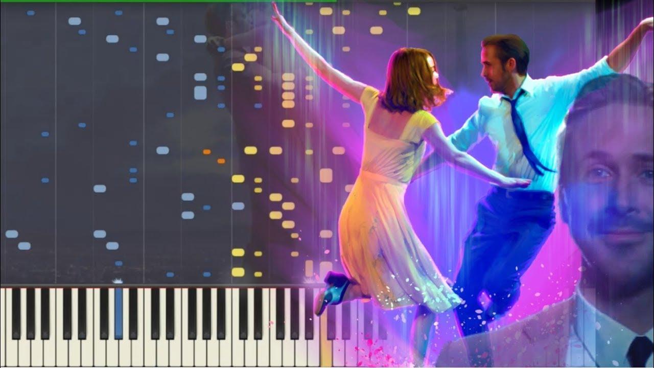 La La Land Medley (Epilogue) [Piano Tutorial] (Synthesia