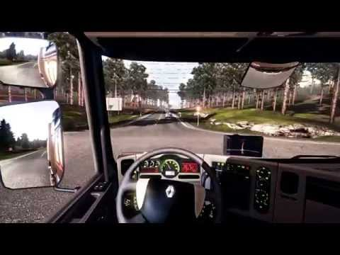 Euro Truck Simulator 2 | From Praha to Frankfurt am Main | Gameplay HD | Job #4