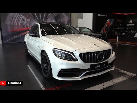 2019 Mercedes AMG C63 S   Sound NEW FULL Review Interior Exterior Infotainment