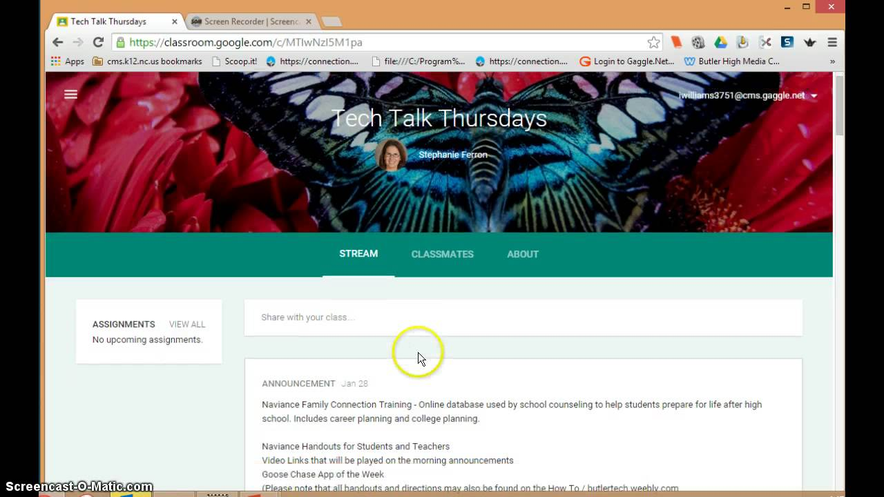 how to log into google google classroom