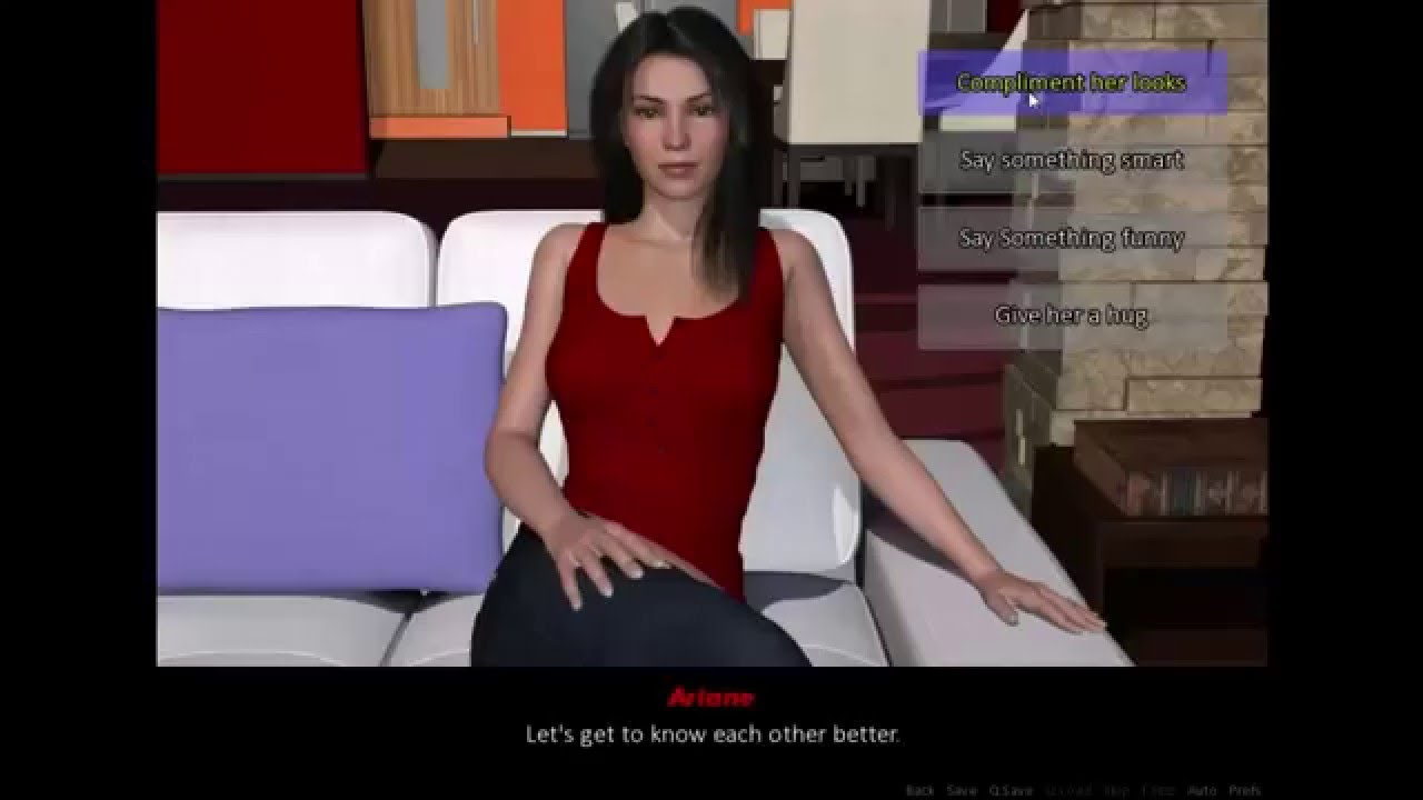 Online dating simulator in Australia