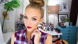 Berry Lips + Lots of Lashes | Makeup Tutorial Thumbnail