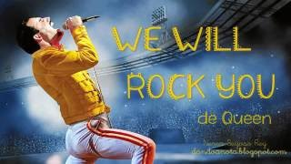 We Will Rock You Queen Versión Larga Flauta Dulce