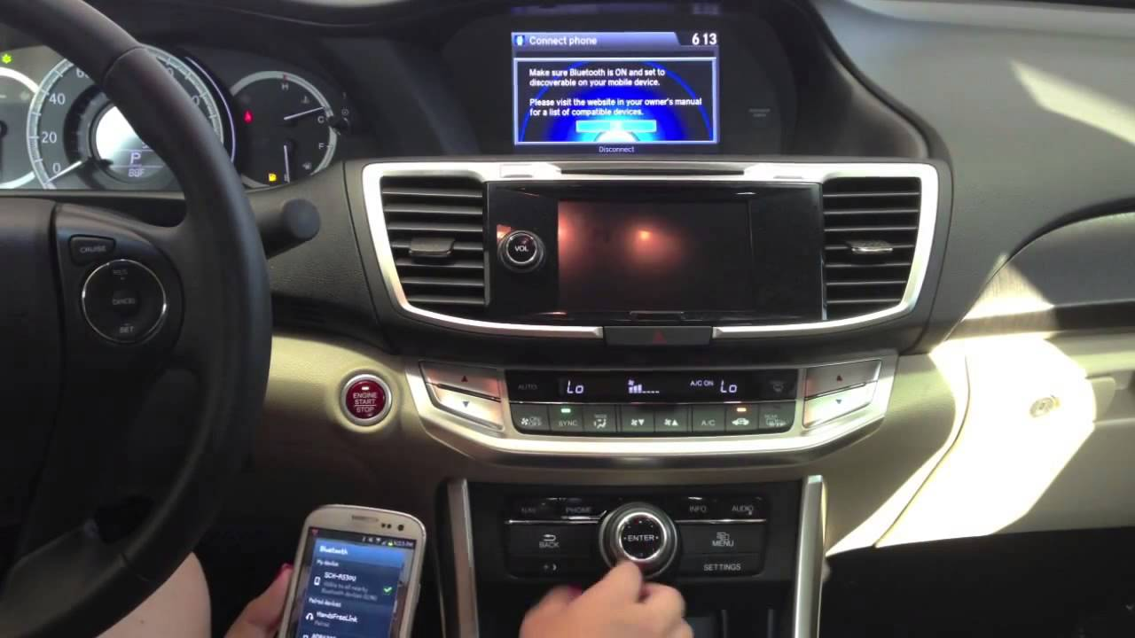 Honda Hands Free Link Tutorial Forest City Honda - YouTube