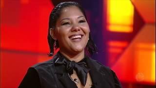 Grace Nascimento conquista 89 jurados com animada apresentação de Oh Happy Day