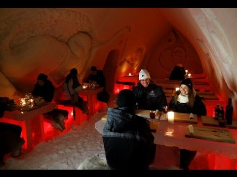 Arctic Snow Hotel in Rovaniemi - Lapland - Finland - arctic icehotel & snowhotel