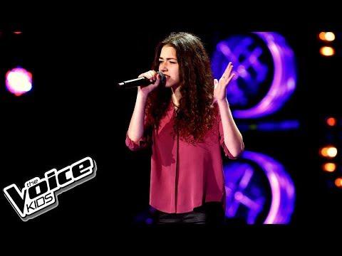 """Natalia Zastępa – """"Titanium"""" – Przesłuchania w ciemno – The Voice Kids Poland"""