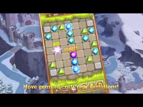 Gemcrafter: Puzzle Journey - Google Play Full Trailer