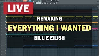 "FL Studio Tutorial ""Billie Eilish - Everything I wanted"" + Project"