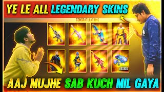 All Legendary Skins Permanent | Sanju Wish Bundle Pet Saitama Only 10000 Diamond | Garena Free Fire