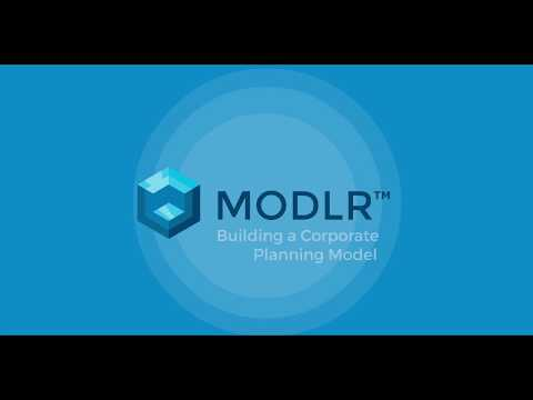 MODLR - Corporate Planning Tutorial - Part 2