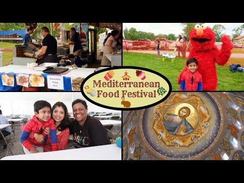 Mediterranean Food Festival || Greek Delicacies || Fun Activities For Kids || Indian Vlogger
