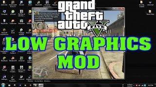 Play GTA V on 4GB Ram | How to mod GTA V With low graphics Mod 2017 | Gaming With Zahin