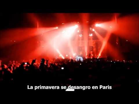 Rammstein :: Frühling In Paris Sub. Español :: Live @ LIFAD World Tour 2010 [HD]