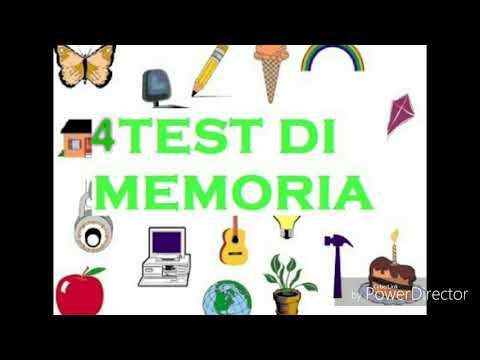 4 test di memoria per tutti 2017