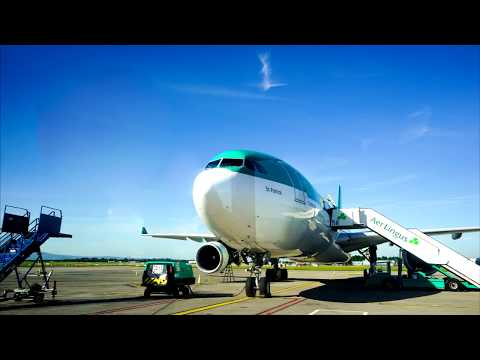 Aer Lingus / A330-300/ Dublin - Chicago/ Full flight