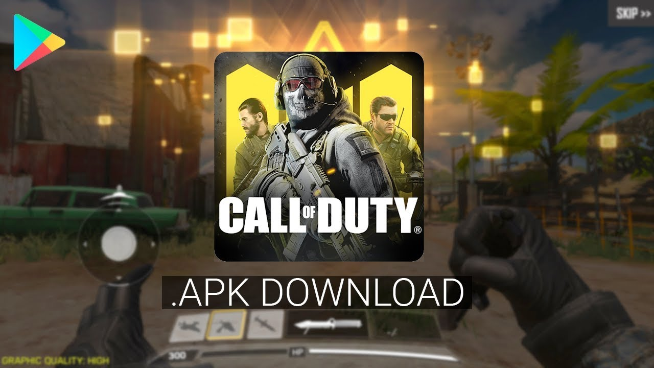 Latest Call of Duty: Mobile APK & OBB Download for Android