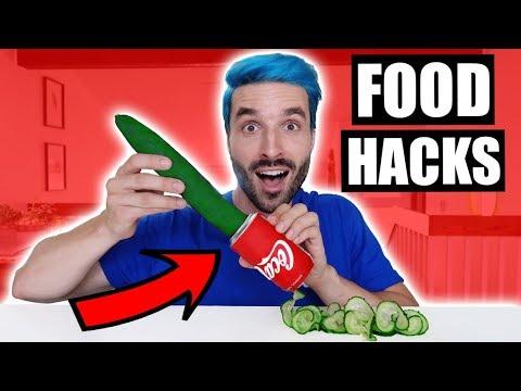 JE MANGE QU'AVEC DES FOOD HACKS PENDANT 24H - PARTIE 3