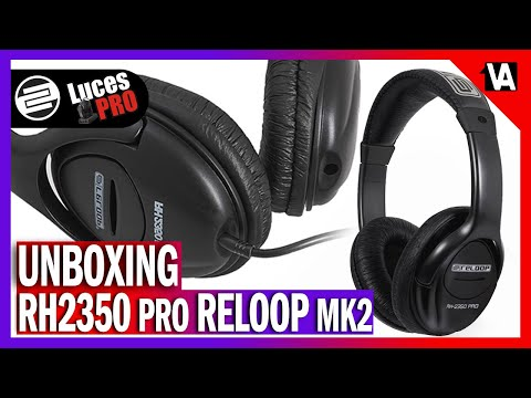 RH 2350 PRO RELOOP MK2 - UNBOXING