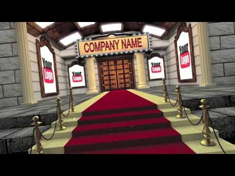 Big Screen Red Carpet Grand Opening Movie Premiere Intro Video