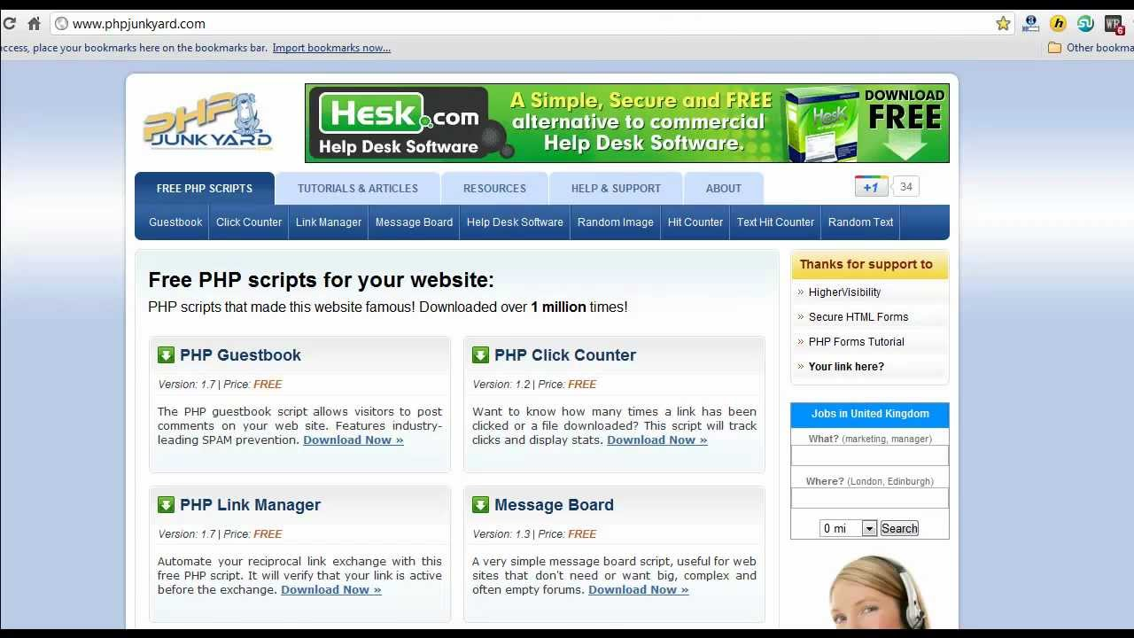 php help desk Help desk pilot is a php based help desk software php is an open source technology while help desk pilot is not an open source help desk software but since it is built on open source technologies like php and mysql the cost of ownership is very low.