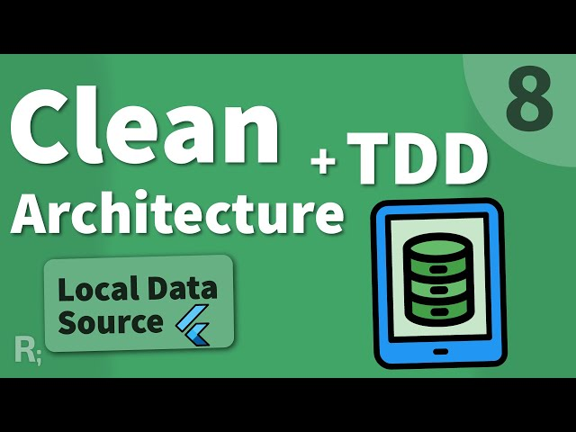 Flutter TDD Clean Architecture Course [8] – Local Data Source
