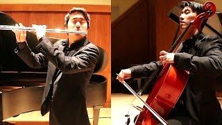 The Mission - Gabriel's Oboe Nella fantasia Flute & Cello Cover