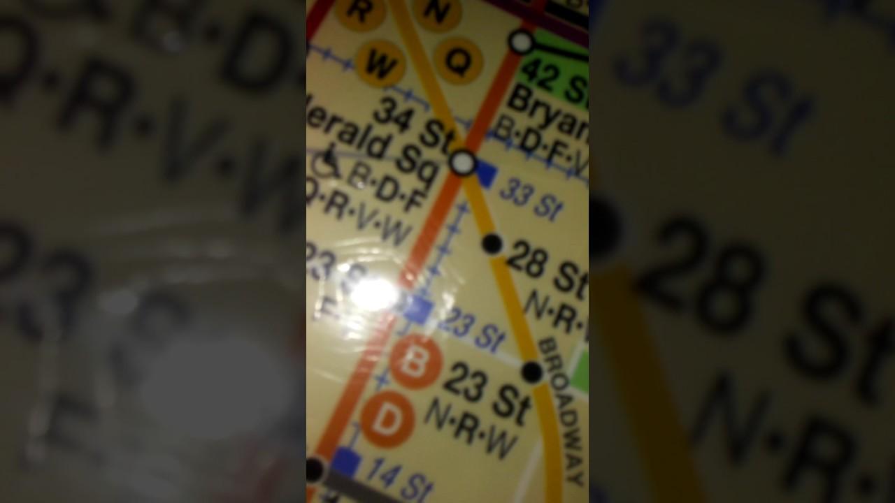 Subway Map 2009.2009 Subway Map Nyc