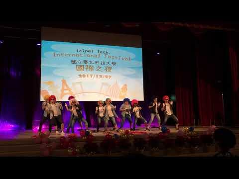 Funny performance at Taipei Tech International Festival