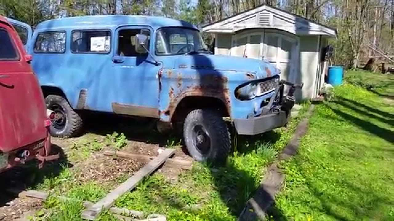1960 Dodge Town Wagon And 1961 Dodge Town Panel For Sale Package