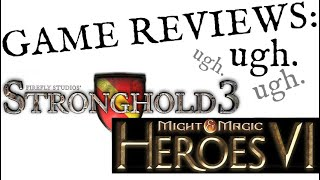 Stronghold 3, Might & Magic: Heroes IV - First Impressions