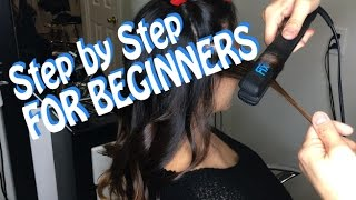 Video HOW TO Curl Hair with a STRAIGHTENER (For BEGINNERS) ** HAIRSTYLIST Breakdown** @1Chair1Mirror download MP3, 3GP, MP4, WEBM, AVI, FLV Agustus 2018