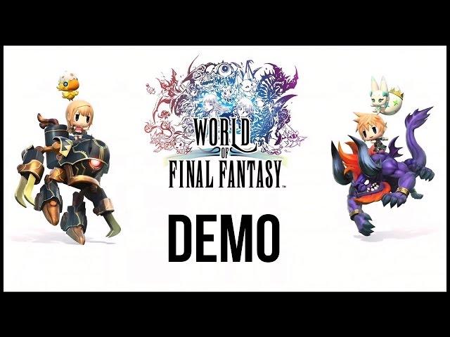 World of Final Fantasy (видео)