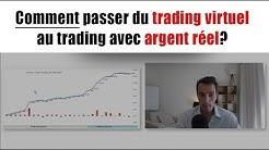 Comment passer du trading virtuel au trading réel? Avec Jérôme de Corée (Avis Le Spéculateur Libre)