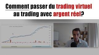 Comment passer du trading virtuel au trading réel? Avec Jérôme de Corée (Swing trader LSL)