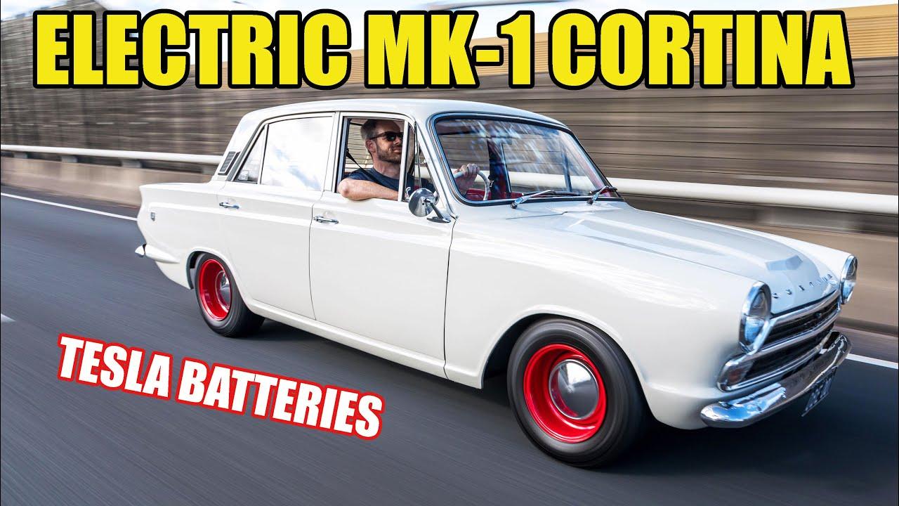 Electric-Powered Ford MK-1 Cortina