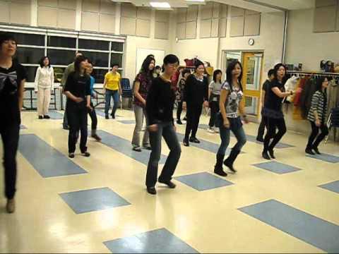 Cash In My Pocket line dance (dance & walk through)
