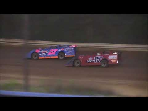 Super Late Model Feature from Jackson County Speedway, June 15th, 2018.