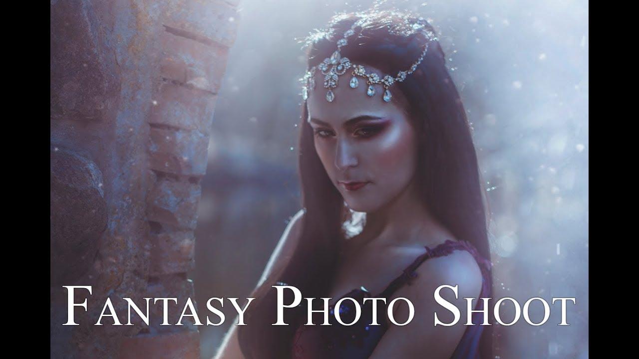 BTS Fantasy Photo Shoot - Avalon Saez - Sabrina Nielsen Photography