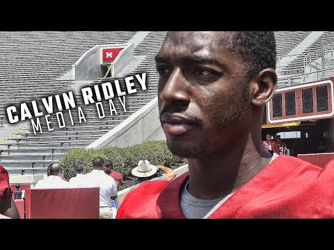 Calvin Ridley talks about Tide's first opponent and working with new OC