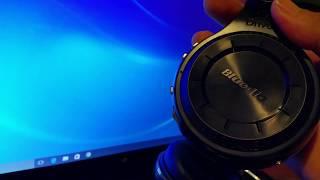 How to pair Bluedio Headphones to Dell Laptop Windows 10