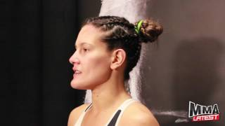 cortney casey is ready to clean out the boring wrestlers the division   ufc 202 post fight
