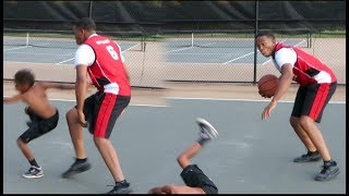 EXPOSING TRASH TALKING LITTLE KIDS IN BASKETBALL🏀
