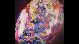"Como pintar en acrílico - Cuadro ""La Novia"" de Gustav Klimt"