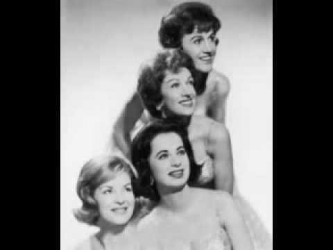 The Chordettes - Lonely Lips (very good quality) - 1955
