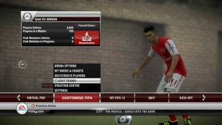 FIFA 12 Squad Update Tutorial