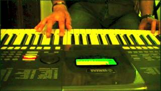 ek hasina thi-karz on keyboard